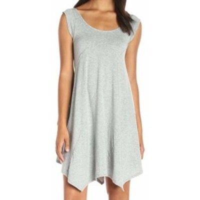 Mod-o-doc モドオードック ファッション ドレス Mod-O-Doc NEW Gray Womens Size XL Asymmetrical Swing Shift Dress