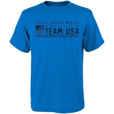 アウタースタッフ メンズ Tシャツ トップス Team USA 2020 Summer Olympics Latitude Bright & Shiny T-Shirt