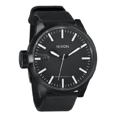 NIXON ニクソン a127001 THE CHRONICLE ALL BLACK メンズ ニクソン クロニクル 時計