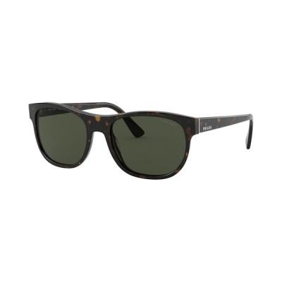 プラダ サングラス・アイウェア アクセサリー メンズ Men's Sunglasses HAVANA/GREEN
