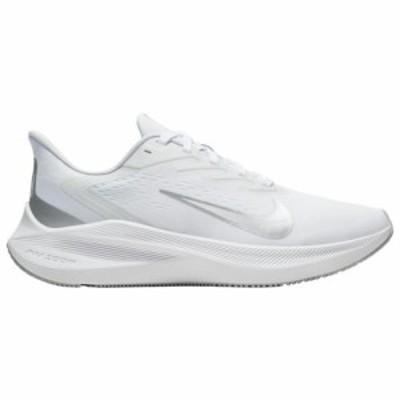 (取寄)ナイキ レディース シューズ ズーム ウィンフロー 7 Nike Women's Shoes Zoom Winflo 7Pure Platinum Metallic Silver White