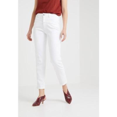 クローズド レディース ファッション PEDAL PUSHER - Relaxed fit jeans - white