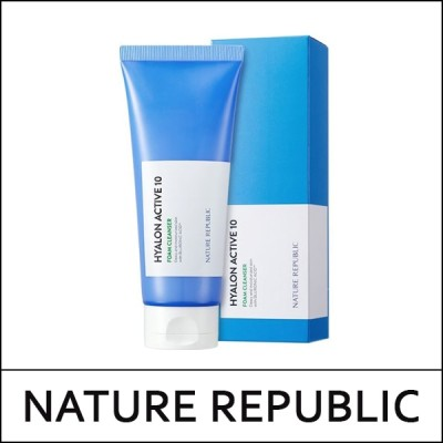 [NATUREREPUBLIC] Hyalon Active 10 Foam Cleanser 150ml / ヒアロン アクティブ 10 フォーム クレンザー 150ml