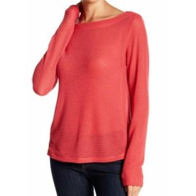 Split スプリット ファッション トップス Socialite NEW Pink Split Knit Womens Size Small S Boat Neck Sweater