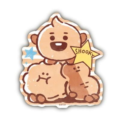 BT21 トラベルステッカー BABY SHOOKY ★LINE FRIENDS★