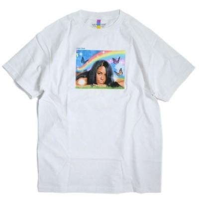 カラーバーズ アリーヤ メドウ Tシャツ ホワイト メンズ/半袖Tシャツ