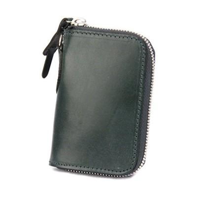 [コルボ] CORBO. カード入れ付き コインケース 小銭入れ ラウンドファスナー 1LD-0232 face Bridle Leather フェイ