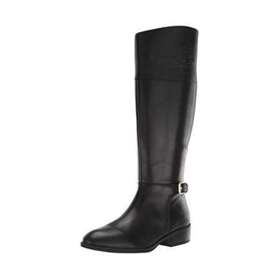 Lauren Ralph Lauren Women's Madisen-W Fashion Boot, Black, 7 B US