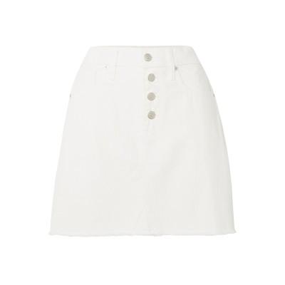 MADEWELL デニムスカート ホワイト 30 コットン 100% デニムスカート
