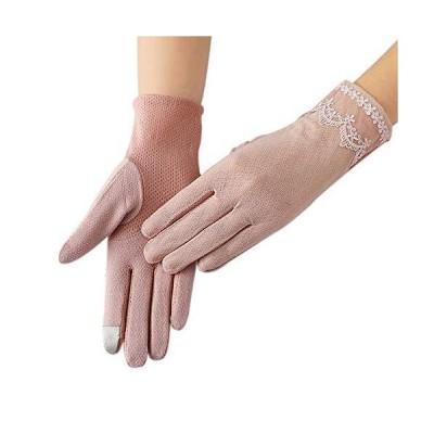 グローブ レディース UVカット手袋 レース ショート 薄型 日焼け防止手袋 柔らかい ウエディング アウトドア ?