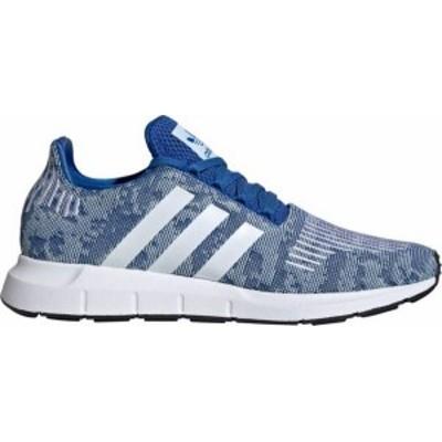 アディダス メンズ スニーカー シューズ adidas Originals Men's Swift Run Shoes Blue/White/Blue