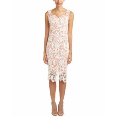 MoDA  ファッション ドレス Few Moda Lace Midi Dress S Pink