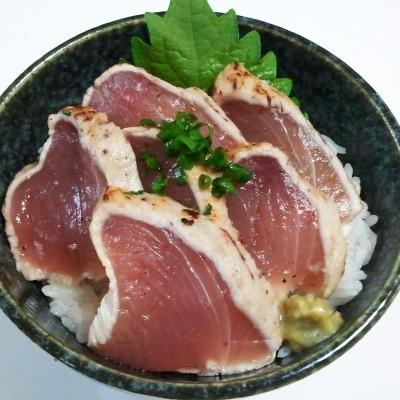 【おとりよせ】 簡単マグロの炙り丼4食セット