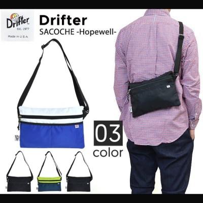 Drifter (ドリフター) SACOCHE HOPEWELL BAG サコッシュ バッグ ショルダーバッグ BAG バッグ 鞄 単品購入の場合はネコポス便発送