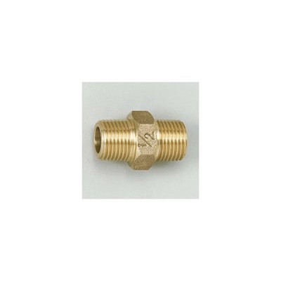 水栓部材 KVK Z713-13 六角ニップル13 1/2