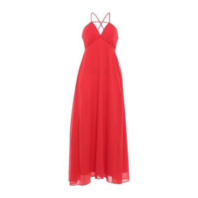 SH by SILVIAN HEACH ロングワンピース&ドレス レッド S ポリエステル 100% ロングワンピース&ドレス