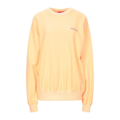 IRENEISGOOD スウェットシャツ オレンジ XS コットン 100% スウェットシャツ