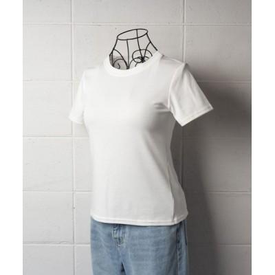 tシャツ Tシャツ 【 8color 】バックスリットクルーネックTシャツ