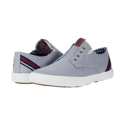 Ben Sherman ベンシャーマン メンズ 男性用 シューズ 靴 スニーカー 運動靴 Pete Laceless - Light Grey Cotton