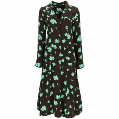 GANNI/ガニー ワンピース MOLE Ganni printed shirt dress レディース F5417 ik