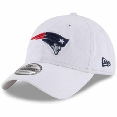 New Era ニュー エラ スポーツ用品  New Era New England Patriots White Core Classic 9TWENTY Adjustable Hat