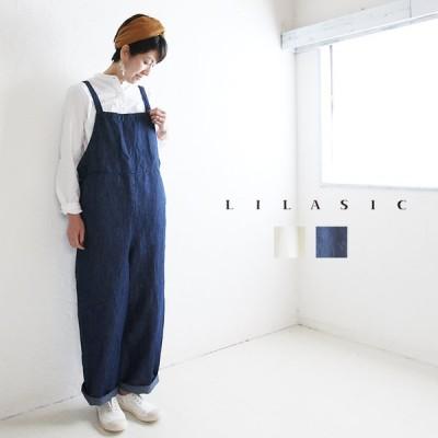 lilasic リラシクPT SJ1134 テーパードイージーパンツ ゆったり 日本製 ナチュラル 服 pumila プミラ レディースファッション