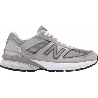 ニューバランス レディース スニーカー シューズ New Balance Women's 990V5 Shoes Light Grey/Dark Grey