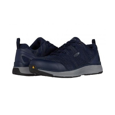 Keen Utility キーン レディース 女性用 シューズ 靴 スニーカー 運動靴 Sparta Aluminum Toe - Blue Depths/Sky Dive