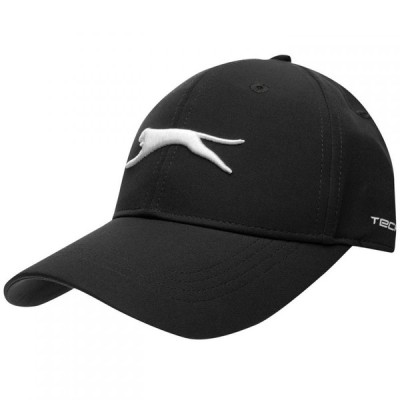 スラセンジャー Slazenger メンズ キャップ 帽子 Tech Cap Black