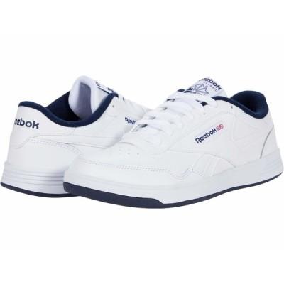 リーボック スニーカー シューズ メンズ Club Memt White/Collegiate Navy/White 1