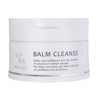 MELLIFE メリフ BALM CLEANSE バームクレンズ 90g アスタキサンチン+米ぬか オレンジ色のとろとろ生バーム まつエクOK W洗顔不要