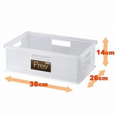 プレクシー 収納ボックス S ( クローゼット 小物入れ カラーボックス用 インナーケース 収納ケース プラスチック 引き出し コンテナ 積