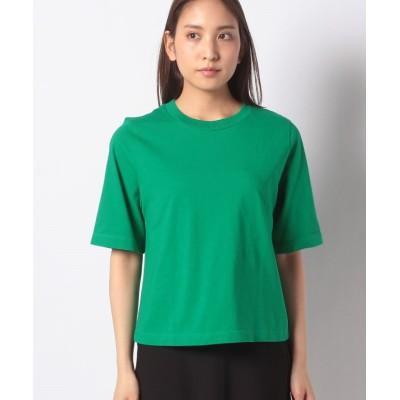 (BENETTON (women)/ベネトン レディース)ヘビーコットンオーバーサイズTシャツ・カットソー/レディース グリーン