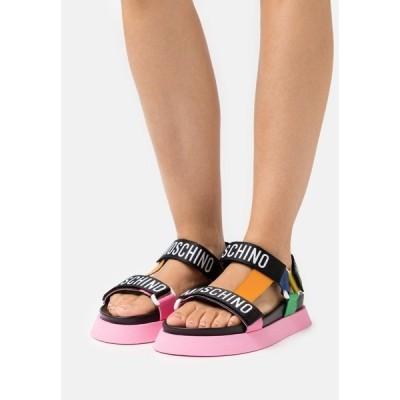 モスキーノ サンダル レディース シューズ Sandals - fantasy color