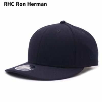 新品 ロンハーマン RHC Ron Herman x ニューエラ NEW ERA 9FIFTY SOLID SNAPBACK CAP キャップ NAVY ネイビー 紺 ヘッドウェア