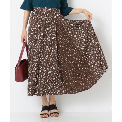 any SiS MIX pattern プリント スカート