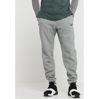 ナイキ カジュアルパンツ メンズ ボトムス THRMA TAPER - Tracksuit bottoms - dark grey heather/black