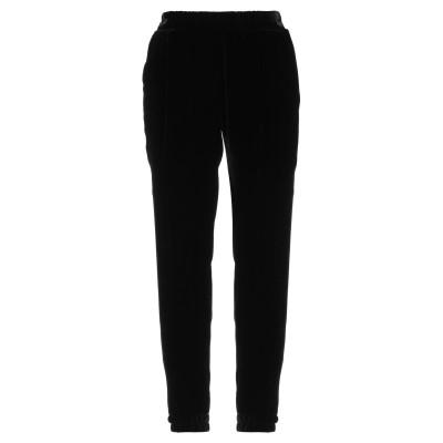 QL2  QUELLEDUE パンツ ブラック 42 レーヨン 82% / シルク 18% パンツ