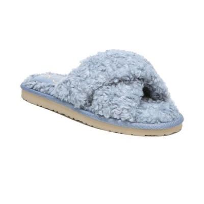 サムエデルマン レディース サンダル シューズ Women's Jeane Fluffy Crisscross Slippers