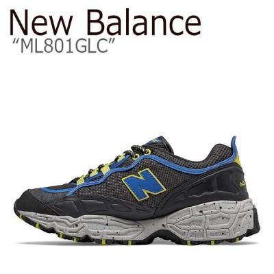 ニューバランス 801 スニーカー New Balance メンズ ML 801 GLC New Balance801 BLUE ブルー ML801GLC シューズ