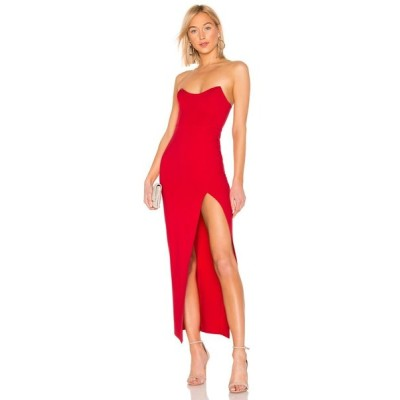 スーパーダウン superdown レディース ワンピース マキシ丈 ワンピース・ドレス Ryleigh Strapless Maxi Dress Red