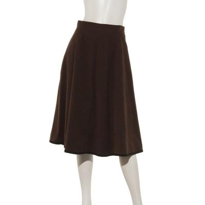 【Rewde】パイピング裾フレアスカート(9R10-12142)