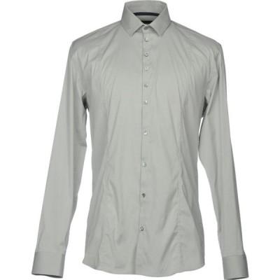 パトリツィア ペペ PATRIZIA PEPE メンズ シャツ トップス Solid Color Shirt Light grey