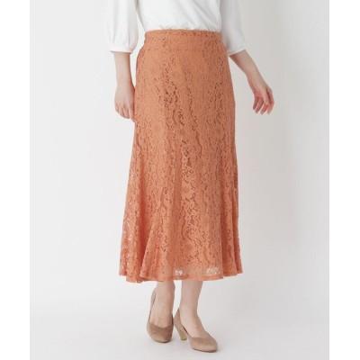 ITS' DEMO(イッツデモ) フラワーレースマーメイドスカート