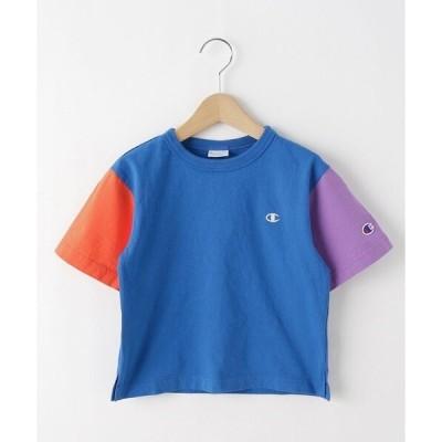 tシャツ Tシャツ 【110-120cm】champion バイカラーTシャツ