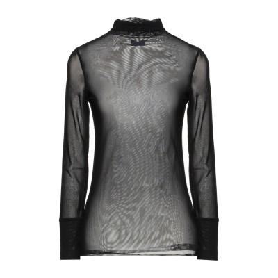 メルシー ..,MERCI T シャツ ブラック L ナイロン 85% / ポリウレタン 15% T シャツ