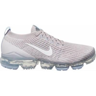 ナイキ レディース ベイパーマックス Nike Women's Air VaporMax Flyknit 3 Shoes ランニングシューズ VIOLT ASH/WHT/HYDRGN BLU