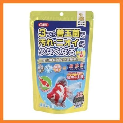 ★JOC★(まとめ) コメット 金魚の主食 納豆菌 中粒 200g (ペット用品) 〔×10セット〕