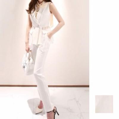 韓国 ファッション レディース パンツ セットアップ パーティードレス 結婚式 お呼ばれドレス 夏 春 パーティー ブライダル naloF482  シ