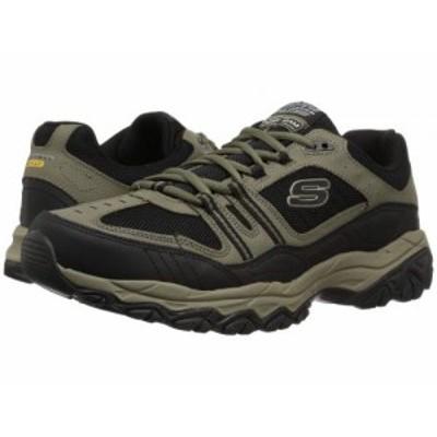 SKECHERS スケッチャーズ メンズ 男性用 シューズ 靴 スニーカー 運動靴 Afterburn M. Fit Strike Off Pebble/Black【送料無料】